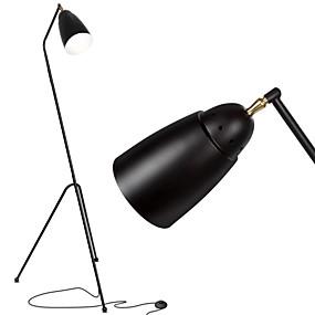 povoljno Stil rasvjete-LED svjetiljka za stativ sredina stoljeća moderna stajaća svjetiljka za dnevnu sobu i spavaću sobu industrijska urbana obnova stilski zadatak svjetiljka bijela crna