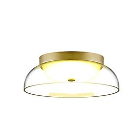 povoljno Lámpatestek-HEDUO Flush Svjetla Downlight Brass Glass Glass Kreativan, Flush Mount 110-120V / 220-240V