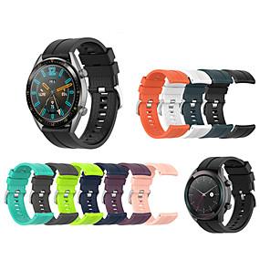 billige Telefoner og tilbehør-armbåndstropp for armbåndsur for silikon sportssport for huawei klokke gt 42mm / 46mm