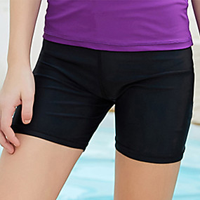 cheap Surfing, Swimming & Diving-Dive&Sail Boys' Girls' Swim Shorts Swim Trunks Elastane Board Shorts UV Sun Protection Quick Dry Snorkeling Beach Water Sports Solid Colored Autumn / Fall Winter Spring / Summer / High Elasticity