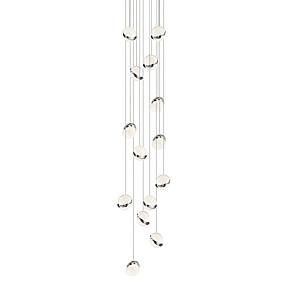 povoljno Lámpatestek-bocci stil vodio privjesak svjetlo / ambijentalno svjetlo DIY blagovaonica svjetlo novi dizajn podesivo / toplo bijelo / bijelo / 14 svjetla