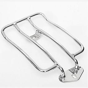 billige Tilbehør til eksteriør-bagasjestativ støttehylle for lager solo sete harley sportster xl883 1200 04-16