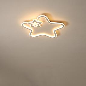 cheap Dimmable Ceiling Lights-1-Light 50 cm Creative / LED Flush Mount Lights Metal Linear Painted Finishes LED / Modern 110-120V / 220-240V