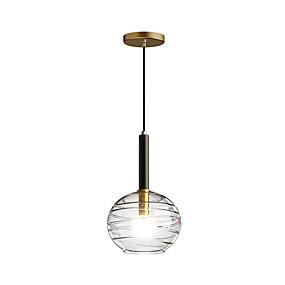 povoljno Lámpatestek-HEDUO Privjesak Svjetla Downlight Brass Bakar Flush Mount 110-120V / 220-240V