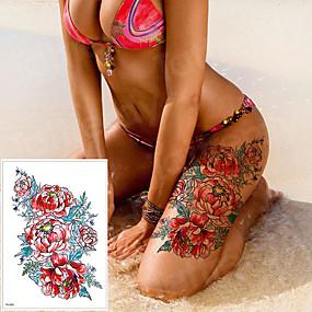 cheap Tattoo Stickers-LITBest 3 pcs Temporary Tattoos Classic brachium / Shoulder / Leg Paper Tattoo Stickers