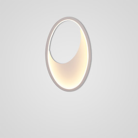 povoljno Lámpatestek-New Design LED / Suvremena suvremena Zidne svjetiljke Stambeni prostor / Spavaća soba Metal zidna svjetiljka IP20 110-120V / 220-240V 12 W