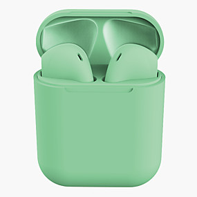 cheap Wired Earbuds-Lanpice Inpods 12 TWS True Wireless Headphone Wireless Mobile Phone Bluetooth 5.0 Stereo Dual Drivers with Microphone