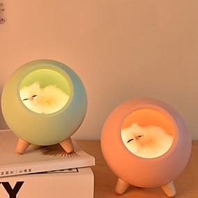 Baby & Kids' Night Lights-Nursery Night Light / Baby & Kids' Night Lights For Children / Cartoon / with USB Port USB 1pc