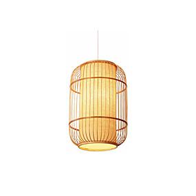povoljno Viseća rasvjeta-Fenjer Privjesak Svjetla Ambient Light Drvo Wood / Bamboo Wood / Bamboo 110-120V / 220-240V