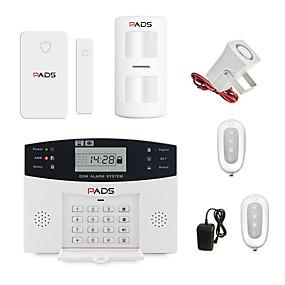 preiswerte Einbruchmeldeanlagen-Wireless GSM Alarmanlage Alarmanlage Haussicherungssystem
