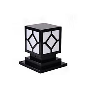 preiswerte Bahn Lichter-Säulenlampe rustikal im Freien wasserdicht Säulenlampe Landschaft Lichter kommerzielle Deko Beleuchtung Chapiter Lampen für Park Terrasse Eisen