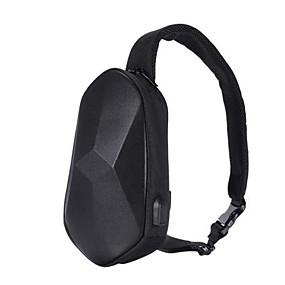 preiswerte Entdecken-xiaomi mijia beaborn polyeder pu rucksack usb tasche wasserdicht bunt freizeit sport brust pack taschen für herren frauen reisen camping
