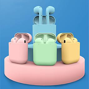 preiswerte Computer & Büro-litbest inpods12 macaron tws wahre drahtlose kopfhörer drahtlose ohrhörer bluetooth 5.0 stereo