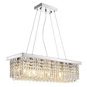 povoljno Lámpatestek-8-Light Privjesak Svjetla Downlight Electroplated Metal Crystal, LED 110-120V / 220-240V Meleg fehér / Hladno bijela Bulb not included / E12 / E14