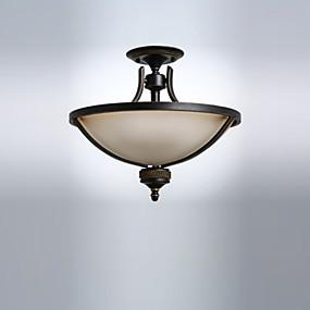povoljno Poboljšanje uvjeta stanovanja-stropna rasvjeta ugradite antikna staklena svjetla downlight oslikana završava stropna rasvjetna tijela za dnevnu sobu blagovaonicu