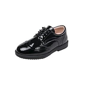 preiswerte Kids' Oxfords-Jungen / Mädchen Schuhe für das Blumenmädchen Lackleder Outdoor Kleine Kinder (4-7 Jahre) Schwarz Sommer
