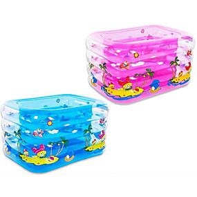preiswerte Kiddie Pools-more care Kinder-Planschbecken Planschbecken Aufblasbarer Pool Spaß Neuartige Extra Groß Spielzeuge Geschenk