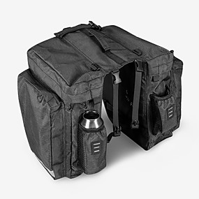 preiswerte Radtaschen-22 L Fahrrad Kofferraum Tasche / Fahrradtasche Wasserdicht Tragbar tragbar Fahrradtasche 600D Polyester Wasserdichtes Material Tasche für das Rad Fahrradtasche Radsport Outdoor Übungen Fahhrad