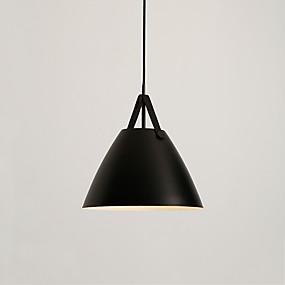 povoljno Lámpatestek-CONTRACTED LED® Geometrijski / preokrenut Privjesak Svjetla Ambient Light Slikano završi Metal Kreativan 110-120V / 220-240V