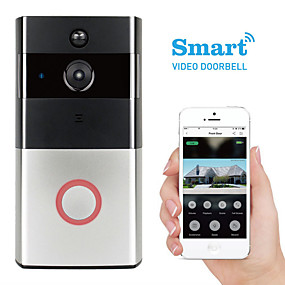 cheap Video Door Phone Systems-K-03L 1280 x 960 WIFI Photographed No Screen(output by APP) Telephone Smart Video Doorbell 166° Viewing Angle One to One Video Doorphone Home Security System