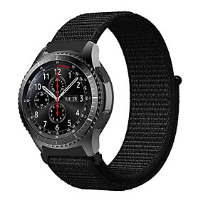 cheap Smartwatch Bands-22MM Woven Nylon Sport Loop Strap Watch Strap for Samsung Galaxy Watch 46mm / Gear S3 Frontier / Gear S3 Classic