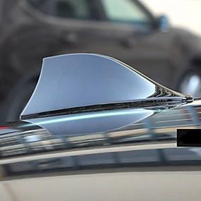 billige Dekorasjon til biltak-universal takbil antenne antenne hai fin radiosignal for auto suv truck van blue
