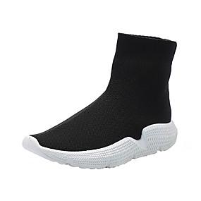 voordelige Damesinstappers & loafers-Dames Loafers & Slip-Ons Platte hak Gesloten teen PU Lente & Herfst Zwart / Grijs