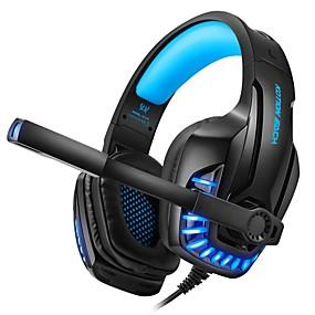 voordelige Gaming-kotion elke g9100 gaming-hoofdtelefoon met lichte microfoon stereo diepe bas hoofdtelefoon voor pc-computer gamer laptop bedrade headset
