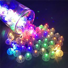 cheap Christmas Decorations-12Pcs Switch Balloon LED Flash Luminous Lamps Tumbler Light Bar Lantern Christmas Wedding Party Decorations Birthday Decor