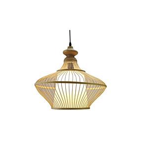 povoljno Viseća rasvjeta-privjesak za seosku svjetlost blagovaonicu pletenu od bambusa privjesak rasvjeta okrugla svjetla ovjesa restorana