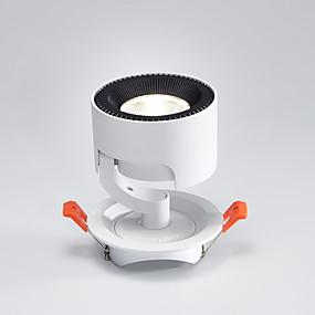 povoljno Lámpatestek-PUSHENG Spot Light Downlight Aluminij Resin Prilagodljiv, Flush Mount opći Meleg fehér / Žuta