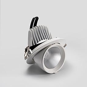 preiswerte Befestigungen für Beleuchtung-PUSHENG Spot-Licht Raumbeleuchtung Aluminium Harz Verstellbar, Unterputz Generisch Wärm Weiß / Gelb