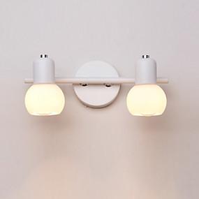 povoljno Lámpatestek-isprazno ogledalo 2 svjetla novog dizajna moderne suvremene zidne svjetiljke& sconces / kupaonska rasvjeta / ljuljačka zakretne ruke kupaonica / unutarnja metalna zidna rasvjeta