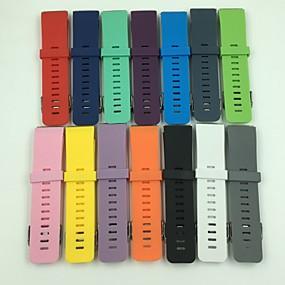 preiswerte Smartwatch-Bands-Uhrenarmband für Fitbit Blaze Fitbit Klassische Schnalle Silikon Handschlaufe