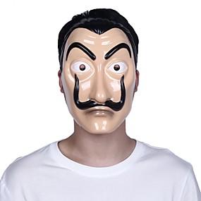 preiswerte Zubehöre für Halloween Party-geld heist das haus aus papier la casa de papel maske halloween