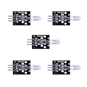 preiswerte Sensoren-7 farben automatische blinkende led-modul * 5 sätze pro satz