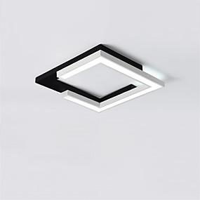 preiswerte Befestigungen für Beleuchtung-CONTRACTED LED® Linear / Geometrisch Einbauleuchten Moonlight Lackierte Oberflächen Metall LED, Neues Design 110-120V / 220-240V Wärm Weiß / Weiß / Dimmbar mit Fernbedienung