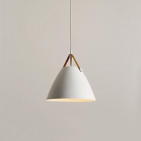 povoljno Viseća rasvjeta-CONTRACTED LED® Geometrijski / preokrenut Privjesak Svjetla Ambient Light Slikano završi Metal Kreativan 110-120V / 220-240V