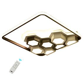 povoljno Lámpatestek-led70w umjetnička stropna svjetiljka / kreativne svjetiljke za dnevnu sobu spavaća soba blagovaonica / 110-120v / 220-240v topla bijela / bijela / zatamnjena s daljinskim upravljačem