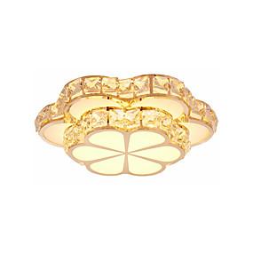 povoljno Lámpatestek-led svjetla za ugađanje moderna luksuzna svjetiljka kristalna svjetiljka ambijentalna svjetlost galvansko metalna trobojna