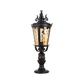 preiswerte Außenwandlichter-Rasen Lampe antiken Design Boden Landschaftsbeleuchtung führte Straßenlaterne wasserdichte Außenbeleuchtung / Hof / Garten