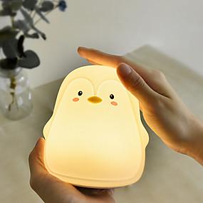 billige Nattlamper til barn-Nursery Night Light / Baby & Kids 'Night Lights For barn / Tegneserie / Med USB-port Usb 1pc