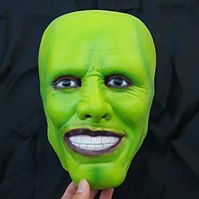 preiswerte Modische Kleidung-Maske Halloween-Maske Inspiriert von Gruseliger Film Grün Halloween Karneval Erwachsene Herrn Damen