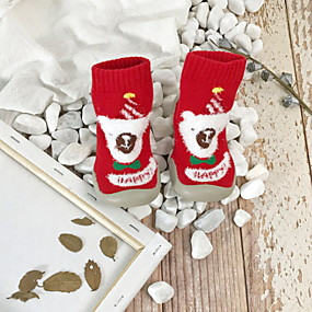 preiswerte Schuhe für Kinder-Mädchen Lauflern Gestrickt Flache Schuhe Kleinkind (9m-4ys) Dunkelblau / Rot / Grün Sommer