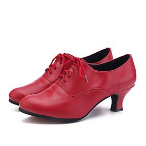 preiswerte Tanzschuhe-Damen Tanzschuhe EVA Jazztanzschuhe Absätze Kubanischer Absatz Maßfertigung Silber / Rot / Rosa / Leistung