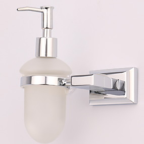 cheap Soap Dispensers-Soap Dispenser Premium Design / Cool Modern Stainless Steel 1pc Wall Mounted