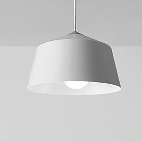 povoljno Viseća rasvjeta-privjesna svjetiljka moderna jednostavna viseća svjetlo željezna okrugla sjenka podesiva stropna svjetiljka za hodnik blagovaonice