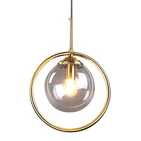 preiswerte Renovierung-HEDUO Sputnik Pendelleuchten Moonlight Lackierte Oberflächen Glas Glas Unterputz 110-120V / 220-240V