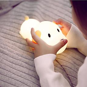 billige Nattlamper til barn-1pc Nursery Night Light Varm hvit / Kjølig hvit Usb For barn / Tegneserie / Med USB-port <5 V