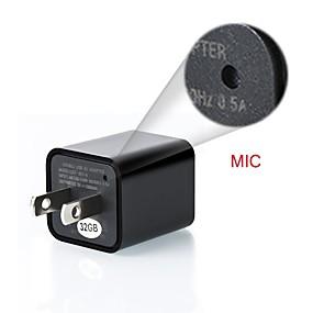 povoljno CCTV kamere-zidni mini punjač 1080p cmos kvadratni ip kamera detekcija pokreta mini dvr video snimač 8-32gb telefonski utikač podrška za kameru veličine memorije 8gb
